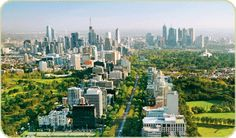 Aerial View - Melbourne Vic.
