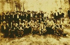 Confederate Soldiers, Itawamba County, MS Reunion Photo