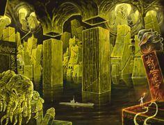 The Lovecraftsman: 4 amazing illustrators interpret H.P. Lovecrafts short story The Temple