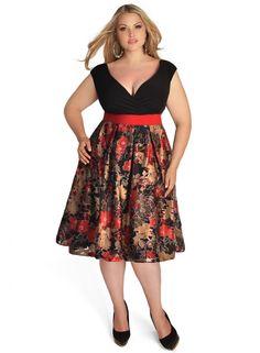 Adelle Dress in Ruby from www.igigi.com