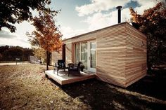 Freedomky Prefab House Atelier Štěpán, modular architecture, low-energy dwelling, green design, passive house #greenenergy