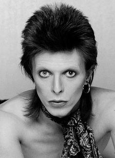 "David Bowie - The rock star, legend, icon. Inspired Derick Zoolanders  ""Blue Steel""."