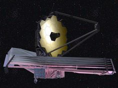 Next Generation Telescopes Take Us Closer to Finding Alien Life James Webb Space Telescope concept art.