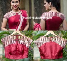 latest net blouse designs 600x545