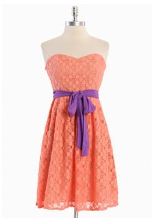 Sorbet Dessert Tube Dress.  For @Claire Yarborough and  all those Clemson games she will be attending.