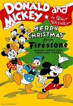 Cover for Donald and Mickey Merry Christmas (Dell, 1943 series) #1945