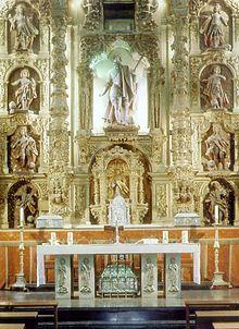 León Iglesia de San Marcelo Retablo