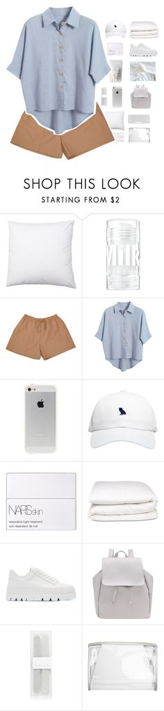 """F A N A A"" by dreyanaxo ❤ liked on Polyvore featuring Acne Studios, Chicnova Fashion, October's Very Own, NARS Cosmetics, Selfridges, MM6 Maison Margiela and Forever New"