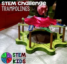 Trampoline STEM Challenge The other day we took a field trip to the Museum of Science in Boston. They have an engineering workshop set up most mornings, which is always a lot of fun. This week the challenge was Extreme Trampolines. They provided trampoline bases, bands to make the structure, and fabric to clip on …
