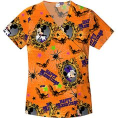 ua woodland friends white scrub top scrubs galore pinterest white scrubs scrub tops and veterinary scrubs - Halloween Scrubs Uniforms
