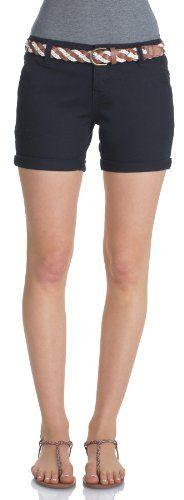 WallFlower Juniors Belted Mid Thigh Twill Shorts - List price: $40.00 Price: $22.80 Saving: $17.20 (43%)