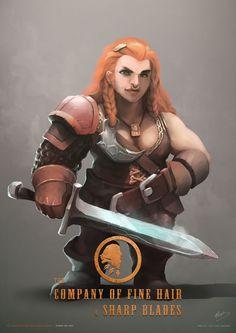 f Dwarf Fighter Plate Sword