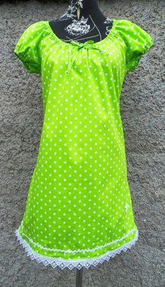 ff7efd0bd8a Pünktchenkleid in 9 Farben frei wählbar Punkte von Zellmann Fashion auf  DaWanda.com