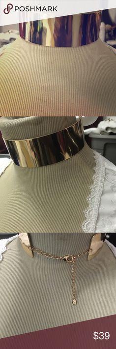 Choker Gold Plated Choker  ALDO Jewelry Necklaces
