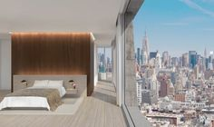 Herzog & de Meuron and John Pawson join forces on new Manhattan residences at Chrystie St New York Projects, Manhattan Hotels, John Pawson, Landmark Hotel, Lower East Side, Condos For Sale, Home Automation, Condominium, Window Treatments