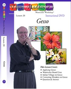 Terry Madden's Lesson 20 - Gesso