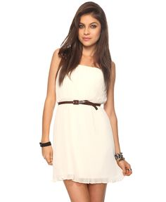 Pleated Chiffon Dress from Forever 21