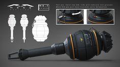 Sci Fi Armor, Sci Fi Weapons, Weapon Concept Art, Fantasy Weapons, Weapons Guns, Guns And Ammo, Futuristic Armour, Futuristic Art, Futuristic Technology