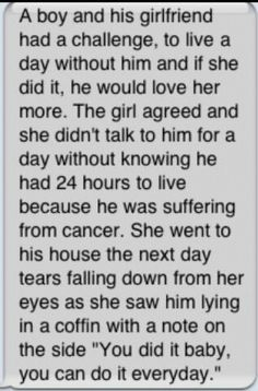WTF? How does this make sense?!? The guy is dying of cancer and his GF hasn't noticed? And he's on his deathbed and no one calls her?? And his timing is so that he dies and is processed by the funeral home in one day-- and he ekes out the strength to write this note... Rilly?