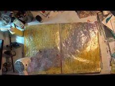 nybegynner Art journaling - YouTube