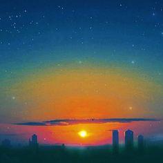 Instagram【irosora_】さんの写真をピンしています。 《空気が汚れていると夕陽は綺麗に見えるね?  #irosora #空色#空#sky #青空#bluesky#夜景#Nightview#星空#夕陽 #夕日#夕焼け#太陽 #風景#景色 #アニメ#アニメ化#アニメ風#マンガ #君の名は風#ジブリ風#ジブリ大好き #イマソラ#カコソラ #ファインダー越しの私の世界 #写真好きな人と繋がりたい》