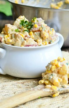 Chipotle Ranch Potato Salad   from willcookforsmiles.com #sidedish #salad #barbecue