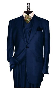 Fashion recommendations with regard to women. Look and feel really good in the very latest low cost styles. Dress Suits, Men Dress, Men's Suits, Navy Suits, Groom Suits, Groom Attire, Groomsmen, Stylish Mens Fashion, Mens Fashion Suits