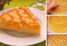 Песочный лимонный пирог: Каждый кусочек — райское наслаждение - Fav0rit77.ru Cornbread, Ethnic Recipes, Polish, Bird, Pie, Millet Bread, Vitreous Enamel, Birds, Corn Bread
