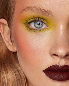 upper cheek blush makeup with a fresh & bright citrus mix. Makeup artist: nikki_makeup Hairstylist: lukepluckrose Photo by sarahbrownphoto Cheek Makeup, Blush Makeup, Eye Makeup, Hair Makeup, Makeup Inspo, Makeup Art, Makeup Inspiration, Beauty Makeup, 1980 Makeup