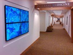 YCD Multimedia WESTMED Medical Group digital signage-Videowall