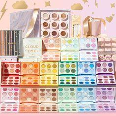 Bts Makeup, Makeup Goals, Skin Makeup, Eyeshadow Makeup, New Eyeshadow Palettes, Makeup Palette, Colourpop Cosmetics, Makeup Cosmetics, Eye Makeup Designs