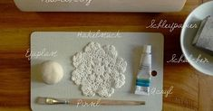 DIY doily bowl with Efaplast (Fimo). Clay Art Projects, Diy Projects, Biscuit, Decoupage, Diy And Crafts, Arts And Crafts, Funny Commercials, Funny Ads, Clay Bowl