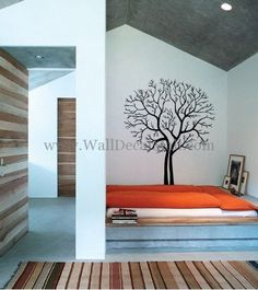 Couple Tree Wall Decals– WallDecalMall.com