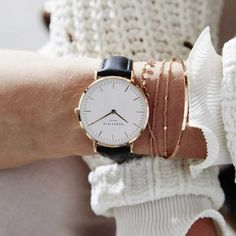 Rosefield óra: BWBLR-B1 óra rendelés Daniel Wellington, Watches, Accessories, Fashion, Moda, Fashion Styles, Clocks, Clock, Fasion