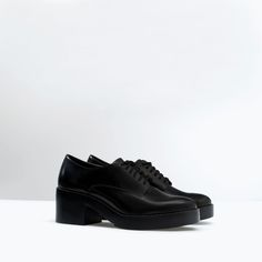 Image 2 of PLATFORM BLUCHER from Zara