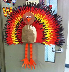 Hand print Turkey