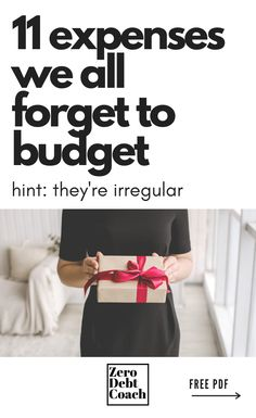 Irregular expenses are one of the biggest sources of frustration and discouragement when you're first learning how to budget. To help jog your memory and ensure your success, here are 11 that most people forget. Ways To Save Money, Money Tips, Money Saving Tips, How To Make Money, College Student Budget, College Students, Making A Budget, Create A Budget, Living On A Budget