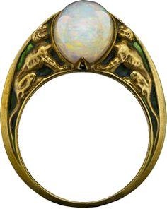 ALBION ART Antique Jewelry - Art Nouveau Rene Lalique, ca.1900.