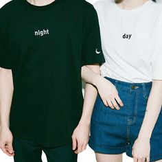 Day x Night Tee sold by MILKTEAS. Shop more products from MILKTEAS on Storenvy, the home of independent small businesses all over the world.