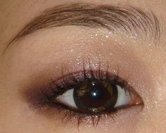 Smokey eye look for Asian eyes