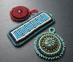 Gevarieerd Bead Embroidery Hangers