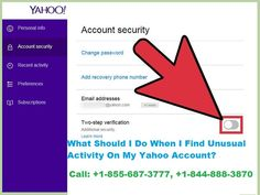What Should I Do When I Find Unusual Activity On My Yahoo Account? Checking the recent activity on Yahoo account is a good way to know if the account is used by any other person or any unauthorized user. In that column, a user can check the location of using the application and can also know if any proxy server is getting used to run the app. Read More: Proxy Server, Read More, Accounting, Ads, Activities, Learning, Check, Studying, Teaching