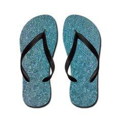 Blue Water Flip Flops $16.79