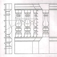 Jeffersonian Architectural Details   Fig. 12. Plate LXVII (detail) James Gibbs, Rules for Drawing the ...