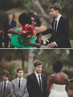 Beautiful couples bwwm interracial cute photography