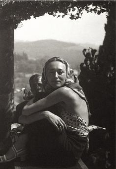 Man Ray      Nusch Éluard à Mougins, France     1936