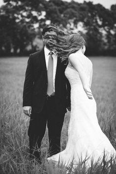 Kiss. Wedding portrait session.