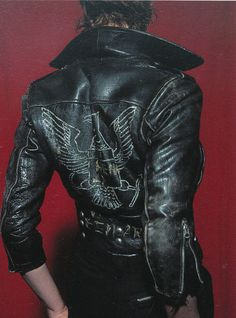 "Vivienne Westwood jacket from Malcom McLaren's store ""Let It Rock""."
