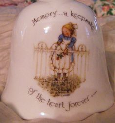 Holly Hobbie Memory a keepsake of the heart forever by parkledge, $15.00