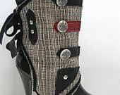 Military Steampunk Spats